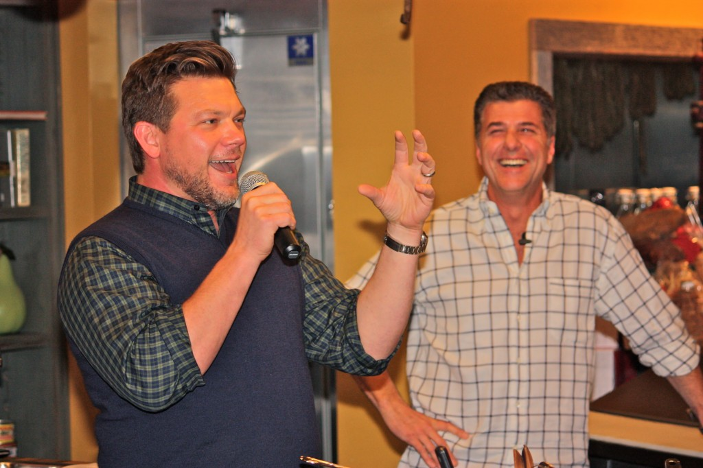 Two Favorite Napa TV Chefs Photo by Ashley Teplin